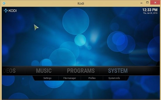 Install Kodi for PC