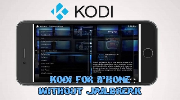Install Kodi for iPhone without JailBreak