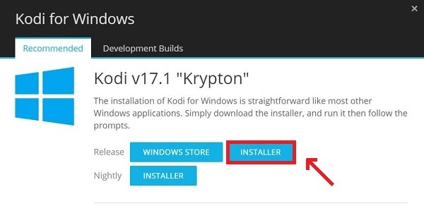 Kodi For PC Windows download