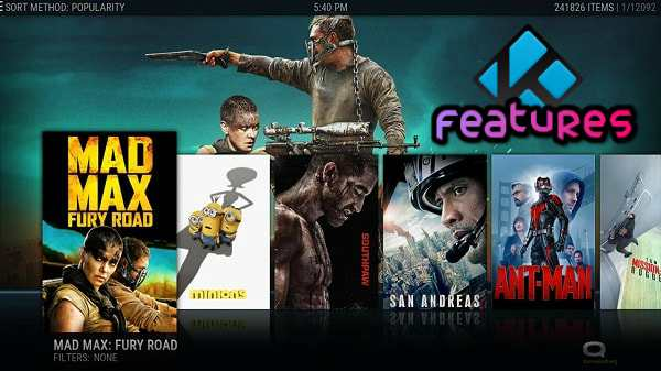 Kodi TV Home Theater Software