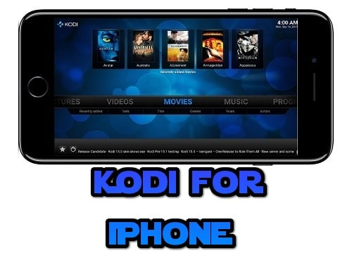 Kodi for iOS, iPhone, iPad Download App
